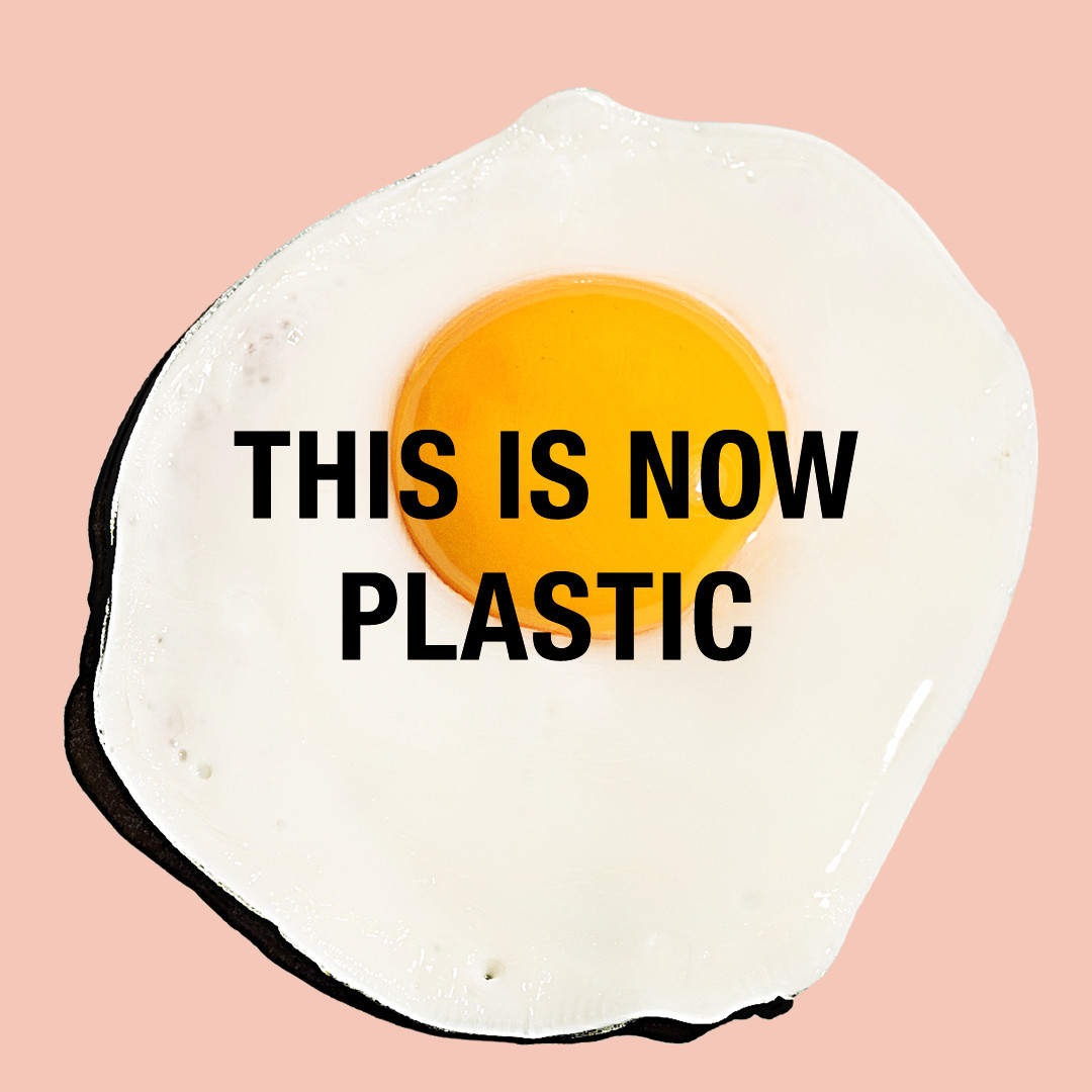 Egg is now plastic